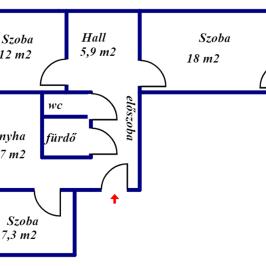 Eladó  panellakás (<span class='notranslate'>Budapest, IV.  </span>kerület) 33,9 M   <span class='notranslate'>Ft</span>
