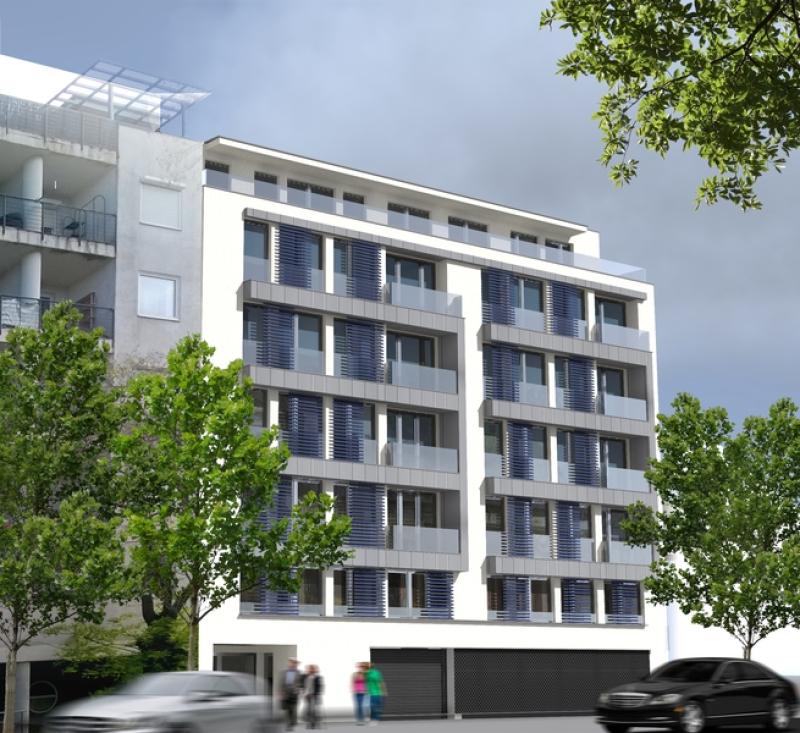 Angyalföldi 54 lakásos ház, Budapest, XIII. kerület, Angyalföld