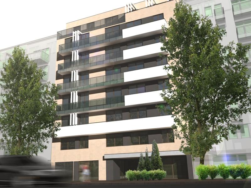 Angyalföldi 61 lakásos társasház, Budapest, XIII. kerület, Angyalföld