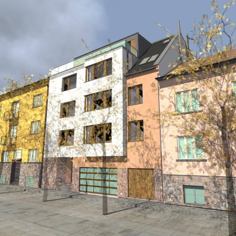 11 lakásos Óbudai társasház, Budapest, III. kerület, Óbuda-Óváros
